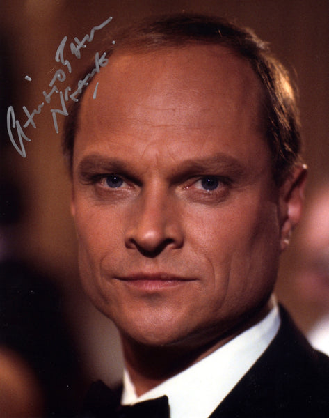 CHRISTOPHER NEAME IN PERSON SIGNED PHOTO FROM JAMES BONDS LICENCE TO KILL