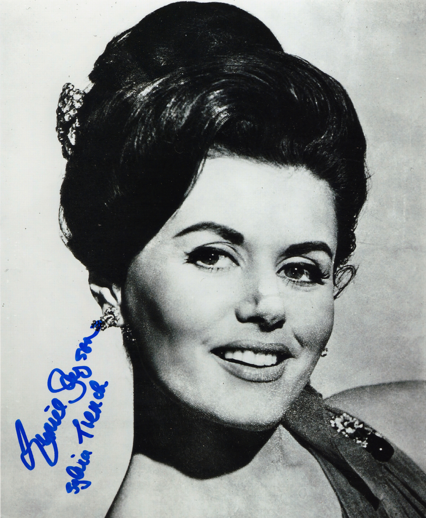 EUNICE GAYSON IN PERSON SIGNED PHOTO FROM THE 1962 JAMES BOND FILM DR NO