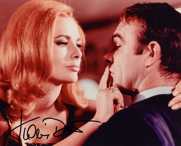 KARIN DOR IN PERSON SIGNED PHOTO FROM THE JAMES BOND FILM, YOU ONLY LIVE TWICE