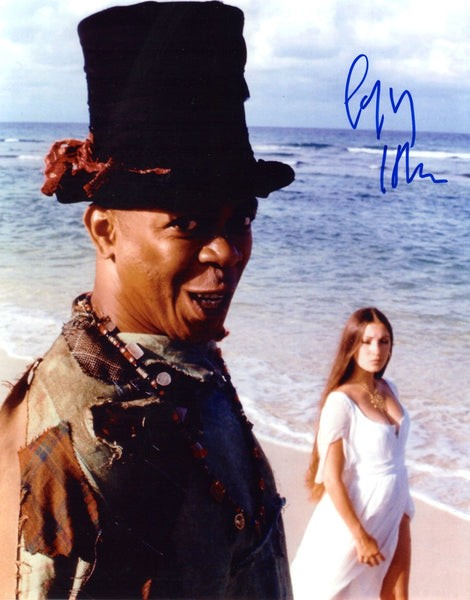 GEOFFREY HOLDER IN BONDS LIVE & LET DIE AUTOGRAPHED PHOTO