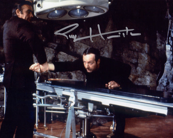 BOND DIRECTOR GUY HAMILTON IN PERSON SIGNED PHOTO