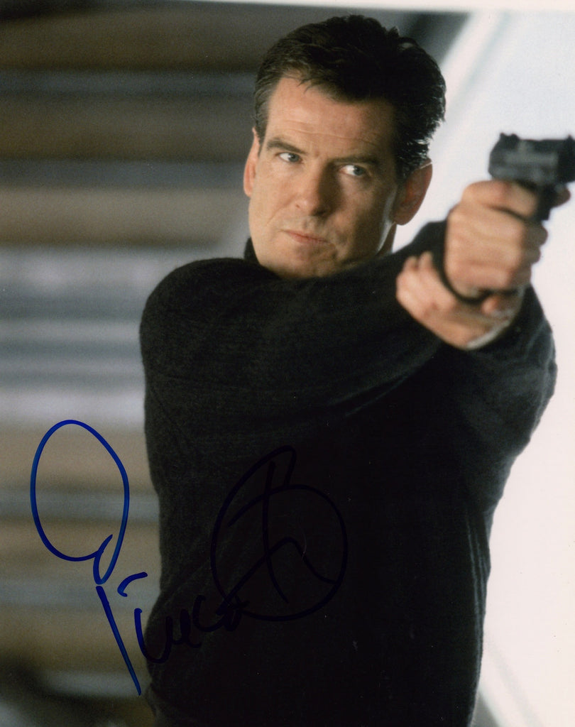 JAMES BOND PIERCE BROSNAN AUTOGRAPHED PHOTO