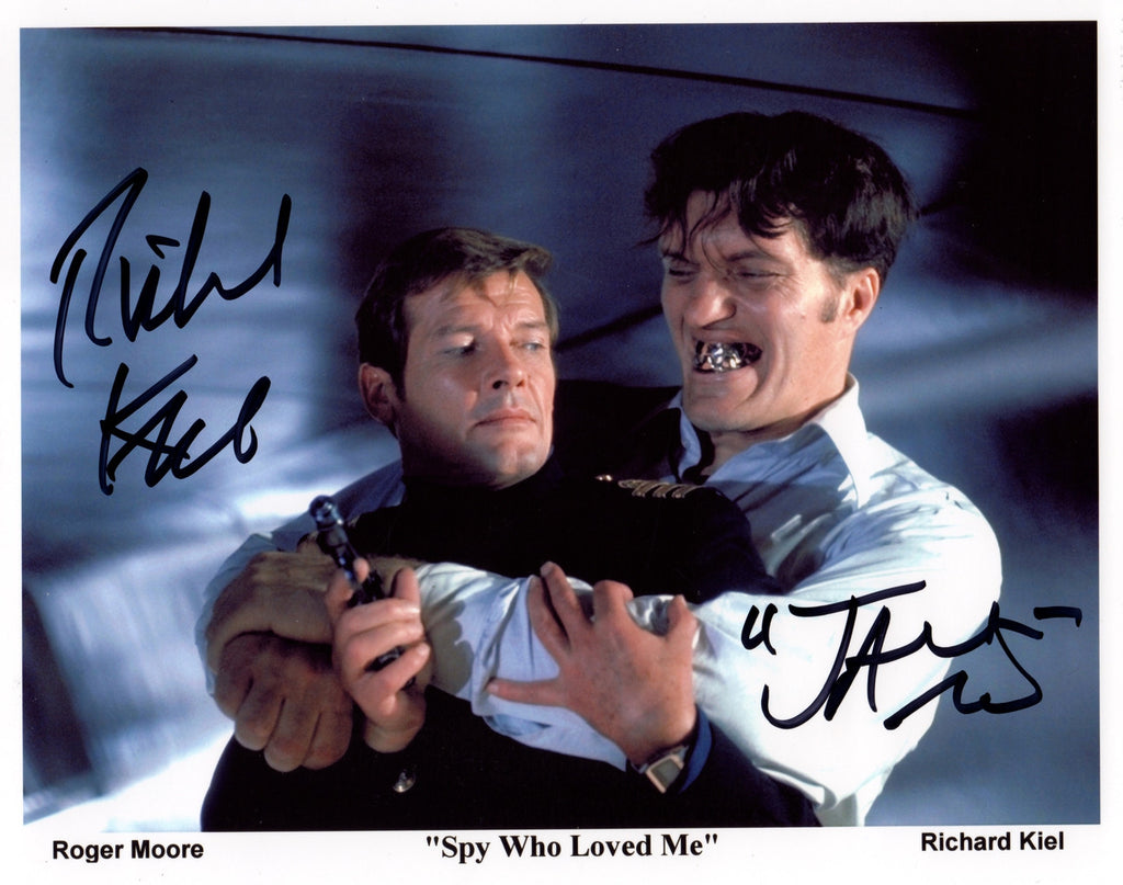 RICHARD KIEL, JAWS FROM THE SPY WHO LOVED ME IN PERSON SIGNED PHOTO