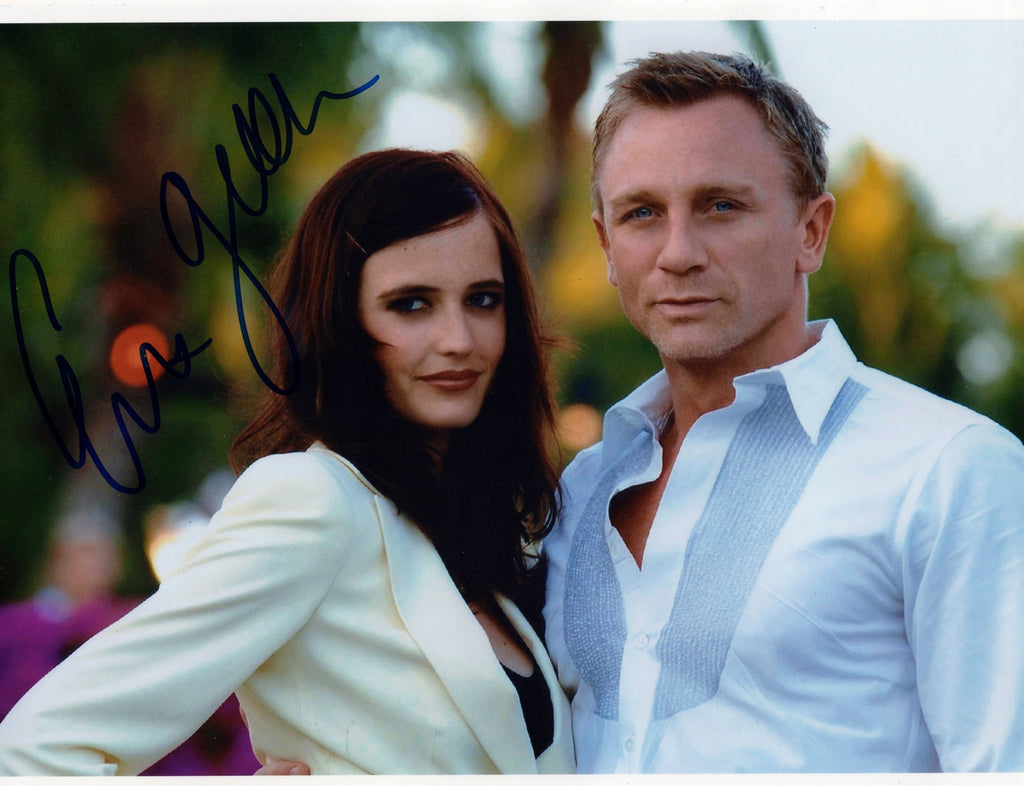 JAMES BOND GIRL EVA GREEN FROM CASINO ROYALE SIGNED IN PERSON PHOTO