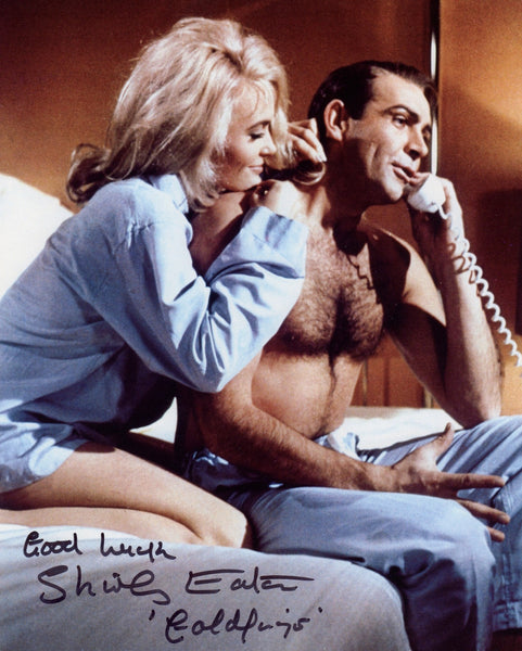 Bond Girl Shirley Eaton Goldfinger Autographed Photo