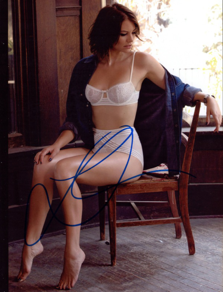 LAUREN COHAN IN PERSON SIGNED PHOTO