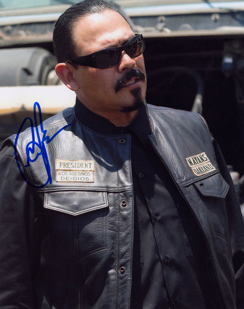 EMILIO RIVERA IN PERSON SIGNED PHOTO AS ALVAREZ FROM SONS OF ANARCHY