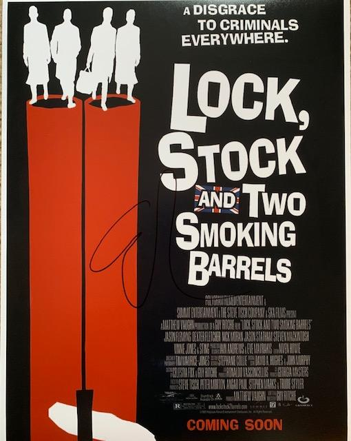 GUY RITCHIE DIRECTOR OF LOCK STOCK AND TWO SMOKING BARRELS 11 X 14 COLOR IN PERSON SIGNED PHOTO