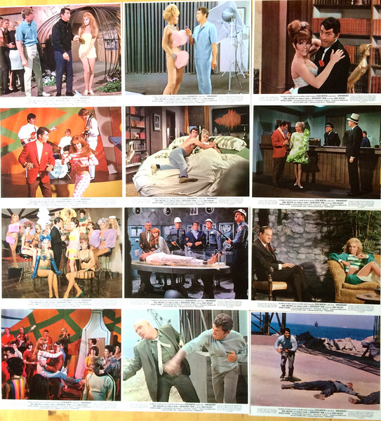 DEAN MARTIN AS MATT HELM IN MURDERERS ROW COLOR PHOTO SET OF 12