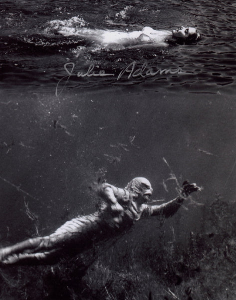 JULIE ADAMS IN PERSON SIGNED PHOTO FROM CREATURE FROM THE BLACK LAGOON