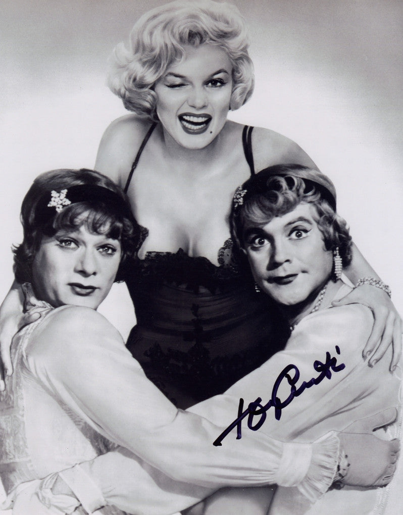 TONY CURTIS SOME LIKE IT HOT AUTOGRAPHED PHOTO