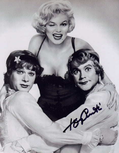 TONY CURTIS SOME LIKE IT HOT IN PERSON SIGNED PHOTO