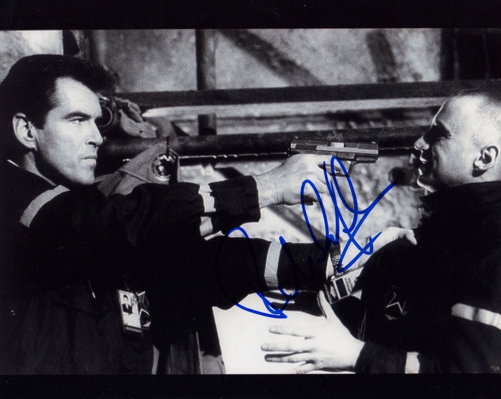 ROBERT CARLYLE SIGNED IN PERSON PHOTO FROM JAMES BONDS THE WORLD IS NOT ENOUGH