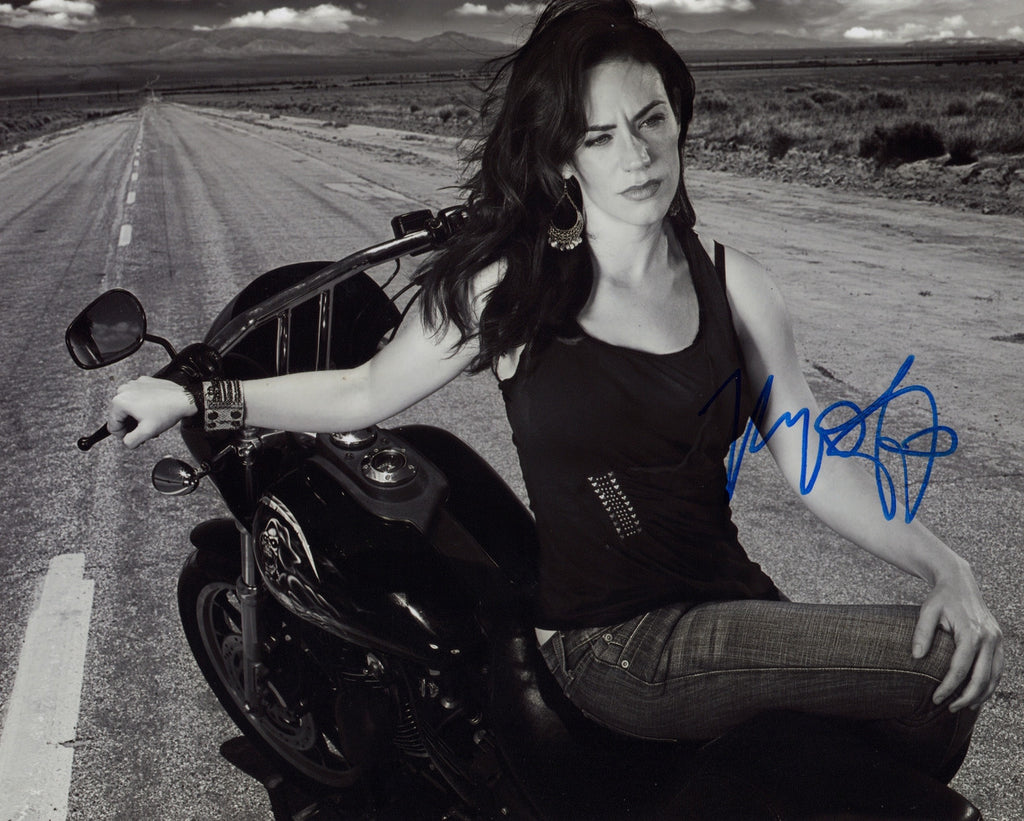SONS OF ANARCHY MAGGIE SIFF AUTOGRAPHED PHOTO