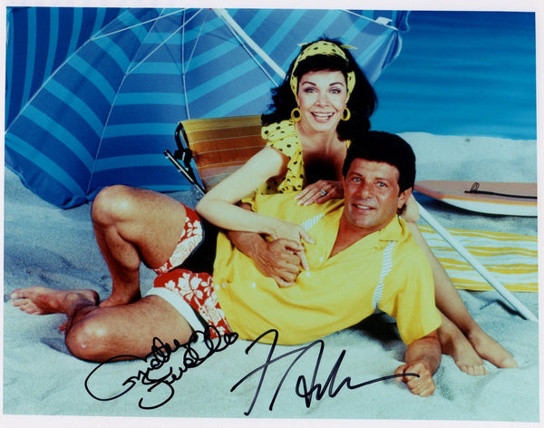ANNETTE FUNICELLO & FRANKIE AVALON AUTOGRAPHED PHOTO