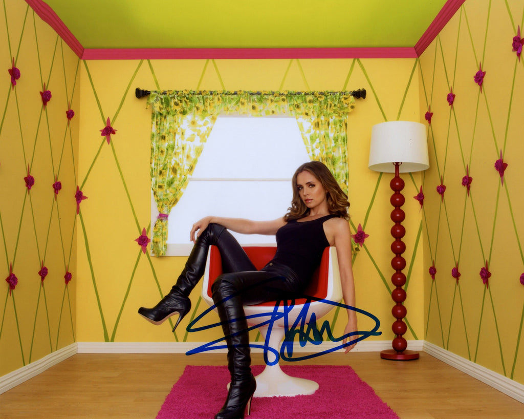 Eliza Dushku In Person Signed Photo From The Series Doll House