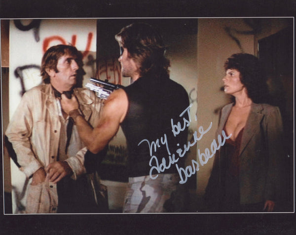 ADRIENNE BARBEAU Signed In Person Photo From Escape From New York