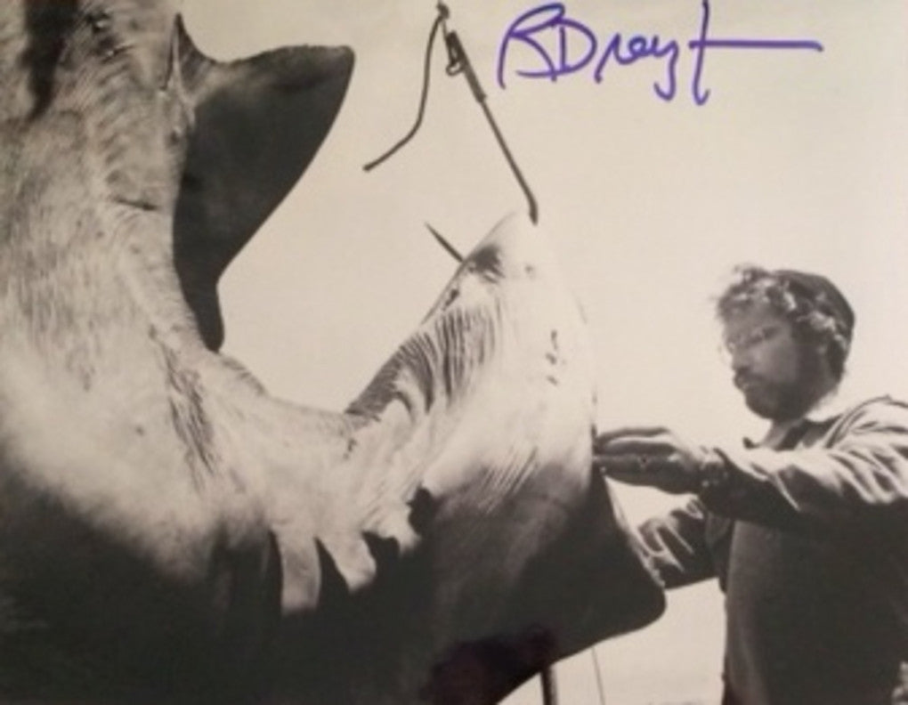RICHARD DREYFUSS AUTOGRAPHED PHOTO FROM JAWS