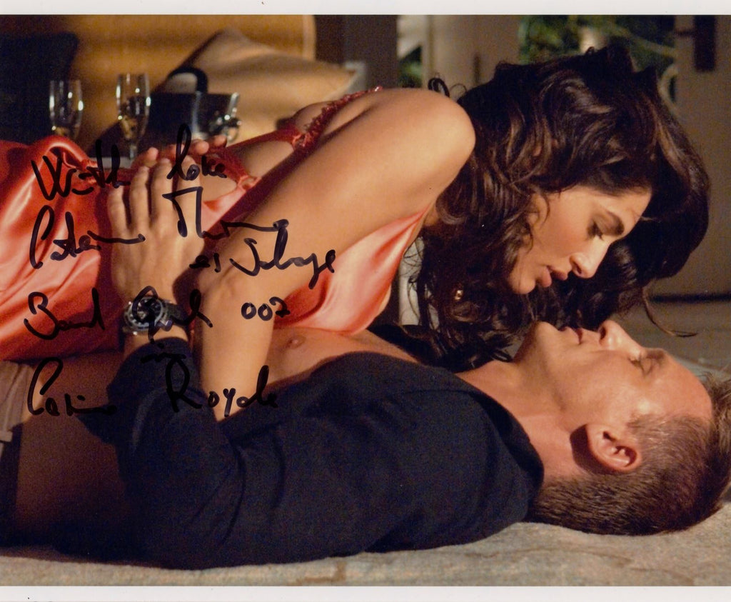CATERINA MURINO CASINO ROYALE JAMES BOND GIRL IN PERSON SIGNED PHOTO