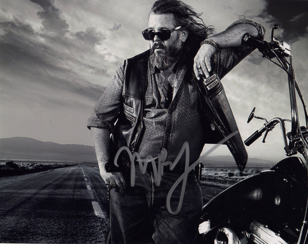SONS OF ANARCHY MARK BOONE JUNIOR AUTOGRAPHED PHOTO