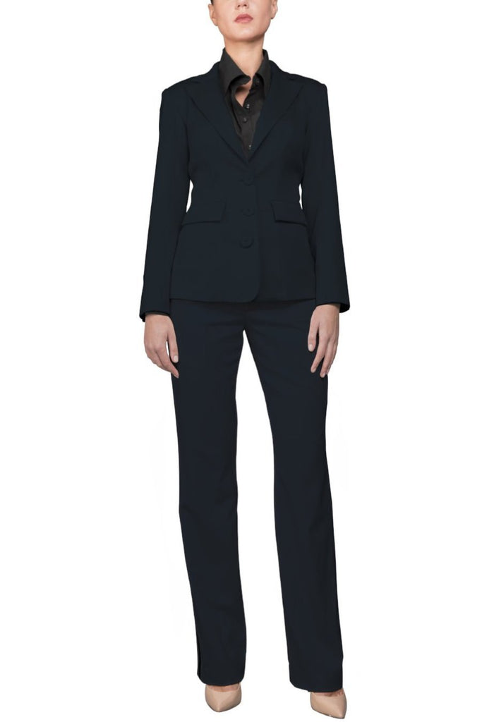 Navy Italian Soft Wool Blazer