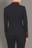 Charcoal Black Soft Wool Blazer