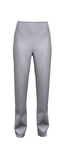 Trouser T01 Light Silver Grey Linen Feel 10341