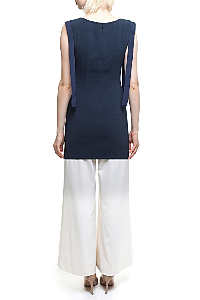Angie Lau Signature Navy Tunic