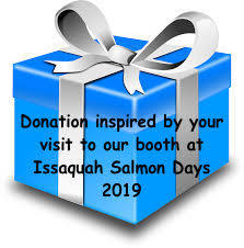 Thank you for visiting us at Issaquah Salmon Days 2019 - Donate to Greyhound Pets, Inc. - Tax Deductible ID# 82-0434711  (Choose the amount from the drop-down menu)