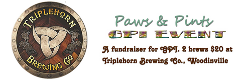 Paws & Pints - $20 each ticket includes 2 brews - 5/18/2019