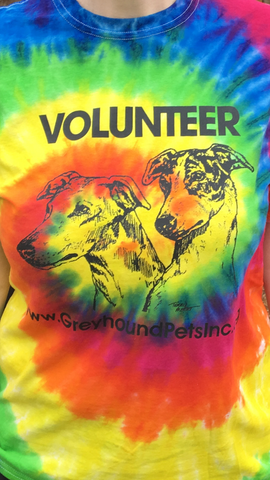 Adult (Unisex) T-Shirt - Design: Volunteer - Tie-Dye!