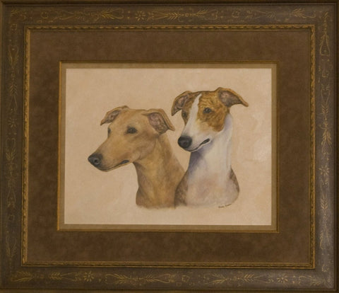 Portrait of Greyhound Pets, Inc. - Logo Print