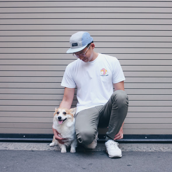 "Sneakers the Corgi ""I Donut Care"" T-Shirt"