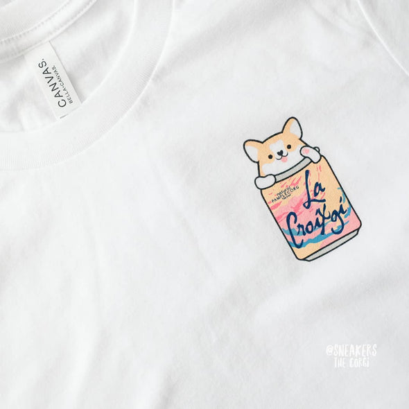 "Sneakers the Corgi ""La Croixgi"" T-Shirt"