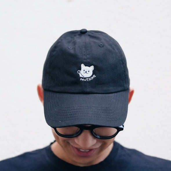 "Sneakers the Corgi ""Pawesome"" Dad Hat"
