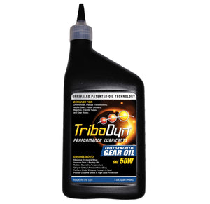 TriboDyn 50W Full Synthetic Gear Oil - 1 Quart (946mL)