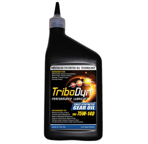 TriboDyn 75W-140 Fully Synthetic Gear Oil- 1 Quart (946mL)