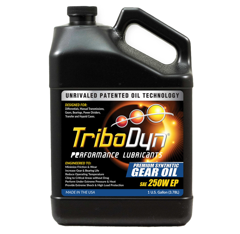 TriboDyn 250W EP Premium Synthetic Gear Oil - 1 Gallon (3.78 Liter)