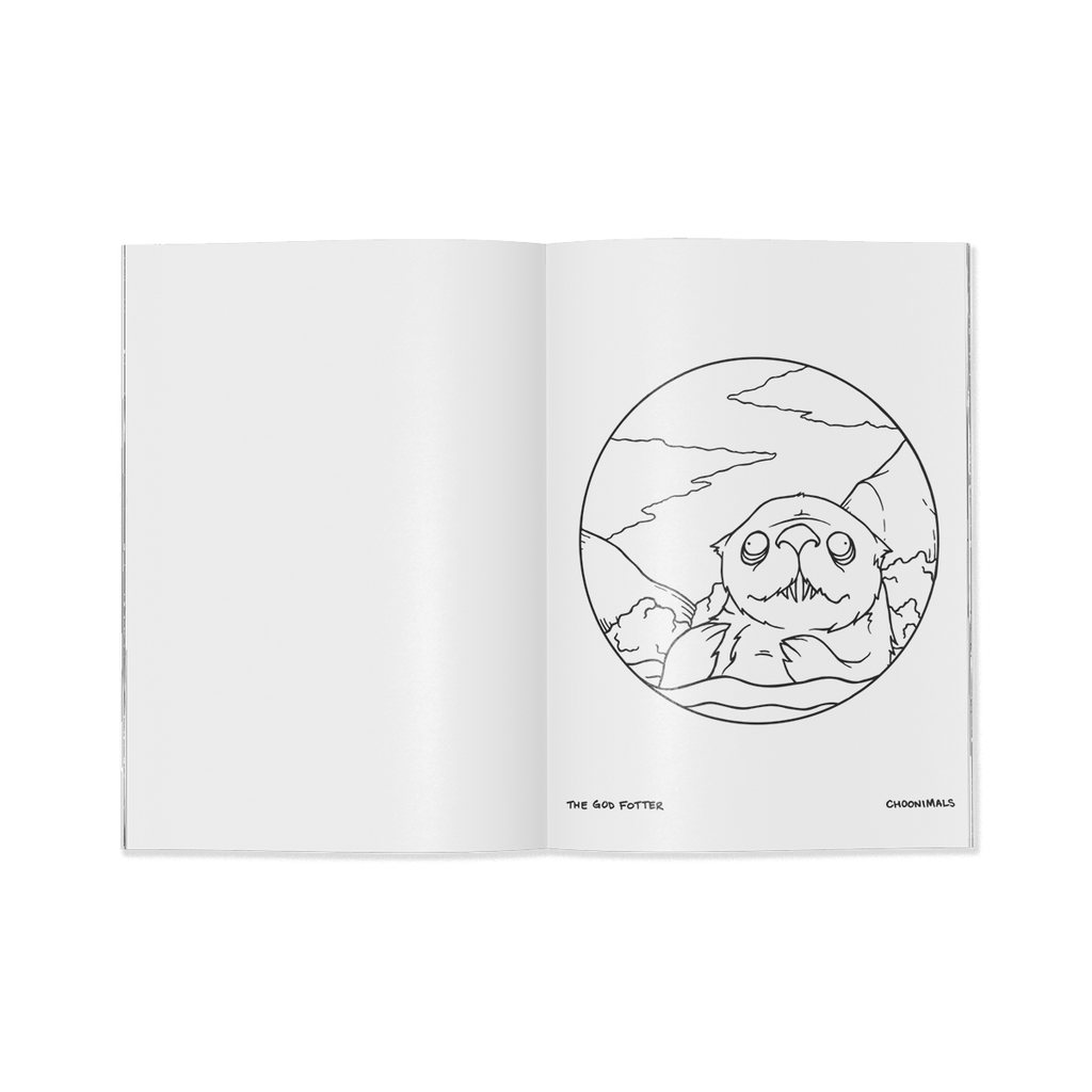 CHOONIMALS COLORING BOOK #2