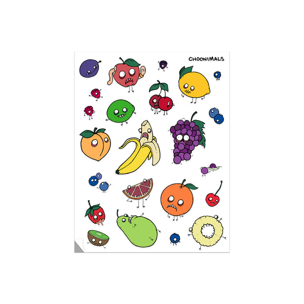 FRUIT OF THE DOOM STICKER SHEET
