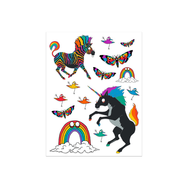 PRIDE COLLECTION STICKER SHEET