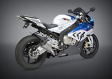 YOSHIMURA SLIP ON BMW S1000RR 2015 R-55 SO Ti-Ti-CF