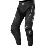 TRACK LEATHER PANTS