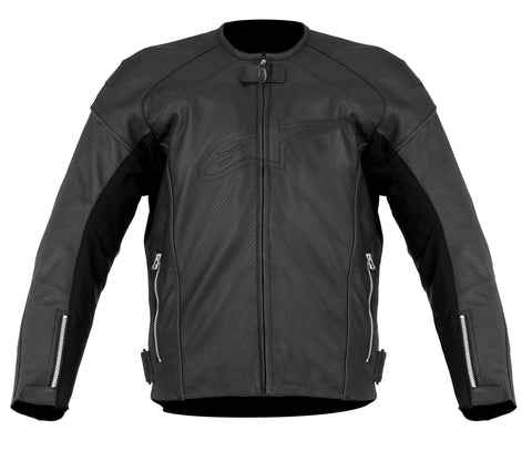 TZ1 RELOAD PERFORATED LEATHER JACKET