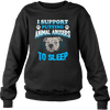 Stop Animal Abuse - Sweatshirt - black