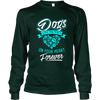 Dogs Leave Paw Prints On Your Heart - Long Sleeve