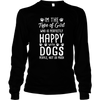 Girl Happy With Dogs - Long Sleeve