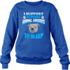Stop Animal Abuse - Sweatshirt - blue