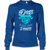 Dogs Leave Paw Prints On Your Heart - Long Sleeve - True Best Friend