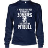 Zombie Pit Bull - Long Sleeve